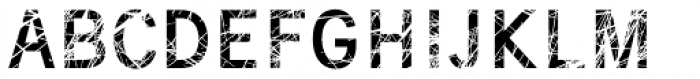 Superwood Font UPPERCASE