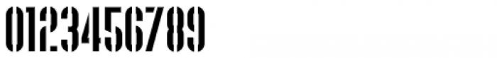 Supplier Stencil JNL Regular Font OTHER CHARS