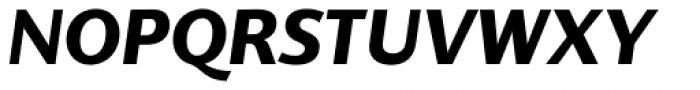 Supra Classic Bold Italic Font UPPERCASE