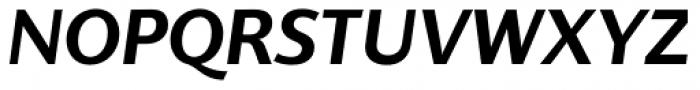 Supra Classic Demi Bold Italic Font UPPERCASE