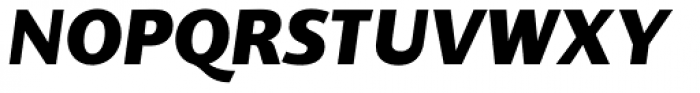Supra Classic Extra Bold Italic Font UPPERCASE
