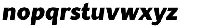 Supra Classic Extra Bold Italic Font LOWERCASE