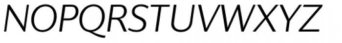 Supra Classic Light Italic Font UPPERCASE