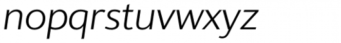 Supra Classic Light Italic Font LOWERCASE