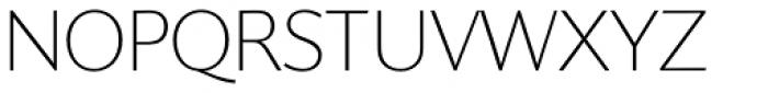 Supra Classic Thin Font UPPERCASE