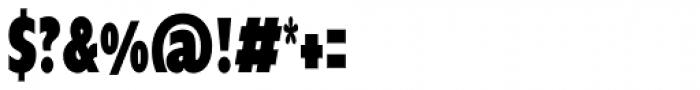 Supra Compressed Black Font OTHER CHARS