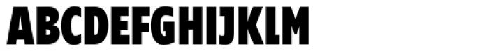 Supra Compressed Black Font UPPERCASE