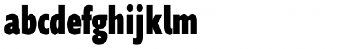 Supra Compressed Black Font LOWERCASE