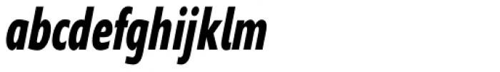 Supra Compressed Bold Italic Font LOWERCASE