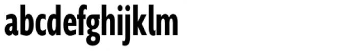 Supra Compressed DemiBold Font LOWERCASE