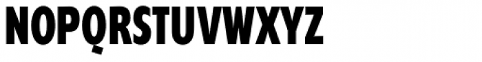 Supra Compressed ExtraBold Font UPPERCASE