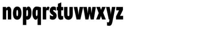 Supra Compressed ExtraBold Font LOWERCASE