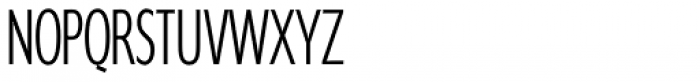 Supra Compressed ExtraLight Font UPPERCASE