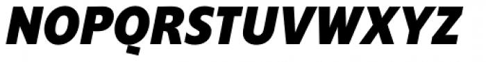 Supra Condensed ExtraBold Italic Font UPPERCASE