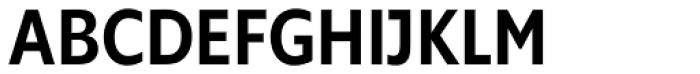 Supra Condensed Medium Font UPPERCASE