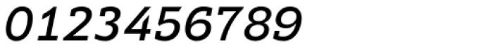 Supra DemiSerif Italic Font OTHER CHARS