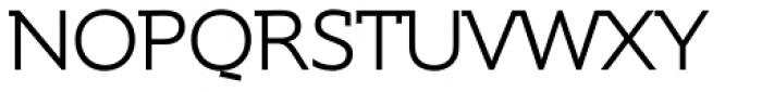 Supra DemiSerif Light Font UPPERCASE