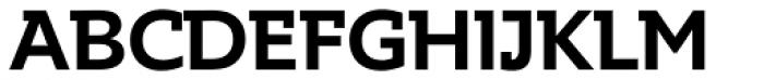 Supra DemiSerif Medium Font UPPERCASE