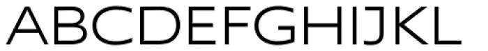 Supra Extended Light Font UPPERCASE