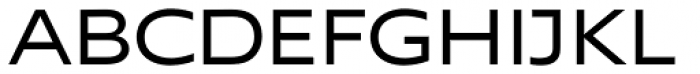 Supra Extended Font UPPERCASE