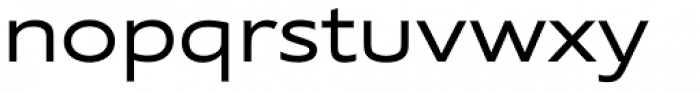 Supra Extended Font LOWERCASE