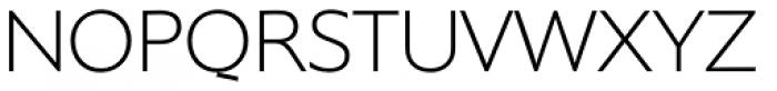 Supra ExtraLight Font UPPERCASE