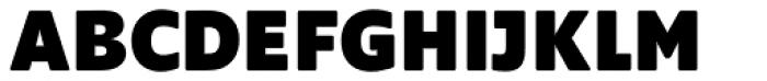Supra Rounded Black Font UPPERCASE