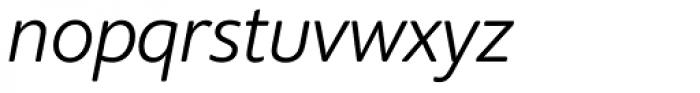 Supra Rounded Light Italic Font LOWERCASE
