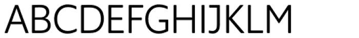Supra Rounded Light Font UPPERCASE