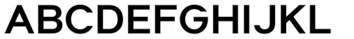 Suprema Semi Bold Font UPPERCASE