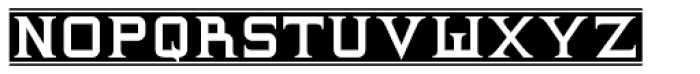 Supremaganda BTN Banner Font LOWERCASE