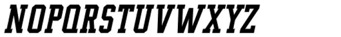 Supreme Bold Italic Font UPPERCASE