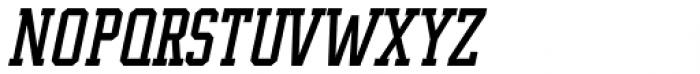 Supreme Italic Font UPPERCASE