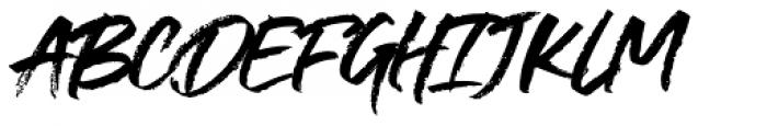Supreme Regular Font UPPERCASE