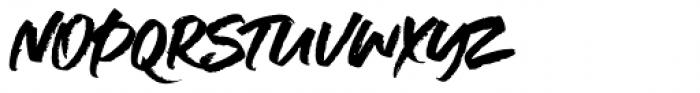Supreme Regular Font LOWERCASE