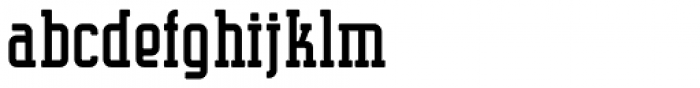 Supreme Rounded Regular Font LOWERCASE
