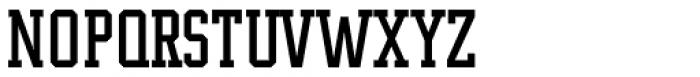 Supreme Font UPPERCASE