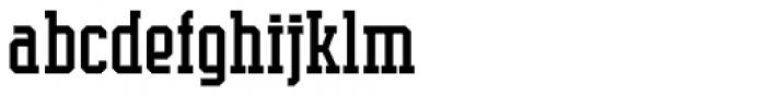 Supreme Font LOWERCASE