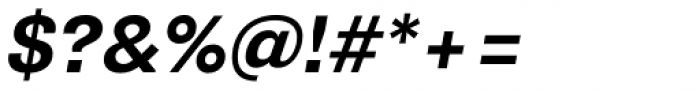 Supria Sans Bold Oblique Font OTHER CHARS