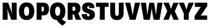 Supria Sans Cond Black Font UPPERCASE