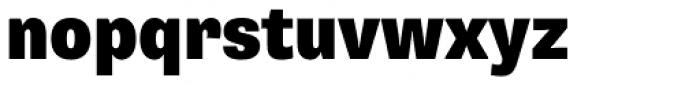Supria Sans Cond Black Font LOWERCASE