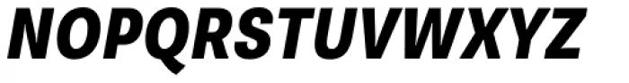 Supria Sans Cond Heavy Oblique Font UPPERCASE