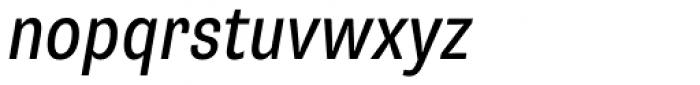Supria Sans-Cond Regular Obliq Font LOWERCASE