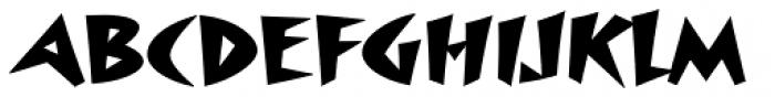 Surfboard Std Font UPPERCASE
