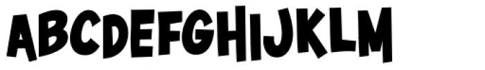 Surfer Shop BTN Bold Font UPPERCASE