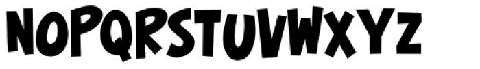 Surfer Shop BTN Bold Font LOWERCASE