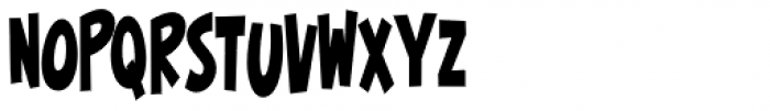 Surfer Shop BTN Cond Bold Font LOWERCASE