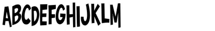 Surfer Shop BTN Cond Font LOWERCASE