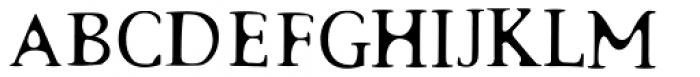 Surrogate-Regular Font UPPERCASE