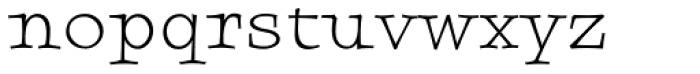 Sursum Medium Font LOWERCASE